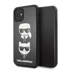 Apple iPhone 11 Karl Lagerfeld Back cover coque KLHCN61KICKC Noir