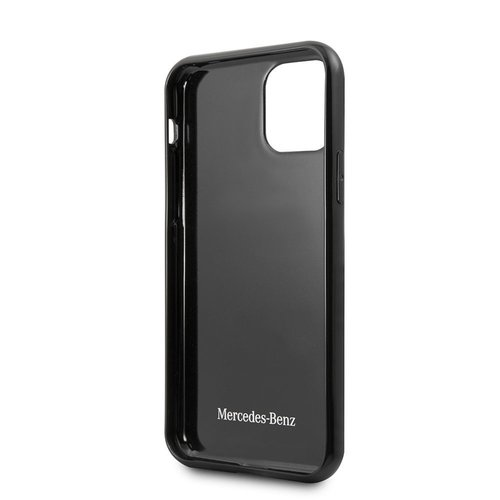 Mercedes-Benz Apple iPhone 11 Mercedes-Benz Back-Cover hul Schwarz MEHCN61RCABK - Carbon Fiber