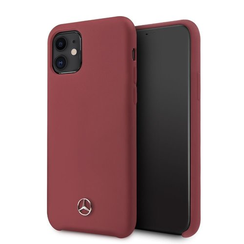 Mercedes-Benz Apple iPhone 11 Back cover case Mercedes-Benz MEHCN61SILRE Red for iPhone 11