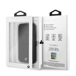 Apple iPhone 11 Pro Zwart BMW Booktype hoesje BMFLBKSN58PELB - Echt leer - BMFLBKSN58PELB