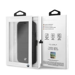 Apple iPhone 11 Zwart BMW Booktype hoesje BMFLBKSN61PELB - Echt leer - BMFLBKSN61PELB