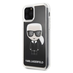 Apple iPhone 11 Pro Max Karl Lagerfeld Back cover coque KLHCN65ICGBK Noir
