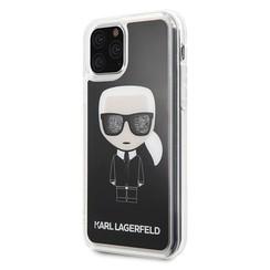 Apple iPhone 11 Pro Max Zwart Karl Lagerfeld Backcover hoesje KLHCN65ICGBK - TPU - KLHCN65ICGBK