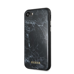 Apple iPhone 7-8 Zwart Guess Backcover hoesje GUHCI8PCUMABK - TPU - GUHCI8PCUMABK