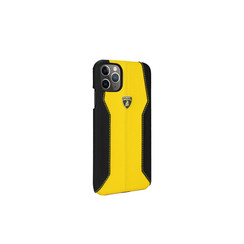 Lamborghini Apple iPhone 11 Pro Max Yellow Back Cover case - Lambo Sport
