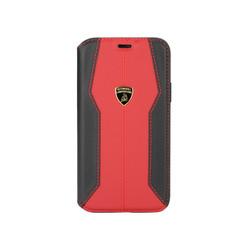 Lamborghini Apple iPhone 11 Pro Max Rouge Book type housse Lambo Sport