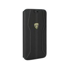 Lamborghini Apple iPhone 11 Pro Noir Book type housse Lambo Sport
