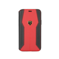 Lamborghini Apple iPhone 11 Pro Red Book type case - Lambo Sport