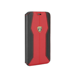 Lamborghini Apple iPhone 11 Rouge Book type housse Lambo Sport
