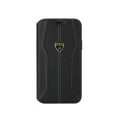 Lamborghini Apple iPhone 11 Black Book type case - Lambo Sport
