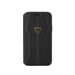 Lamborghini Apple iPhone 11 Zwart Booktype hoesje Lambo Sport