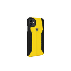 Lamborghini Apple iPhone 11 Geel Backcover hoesje Lambo Sport