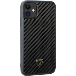 Lamborghini Apple iPhone 11 Zwart Backcover hoesje Lambo Sport