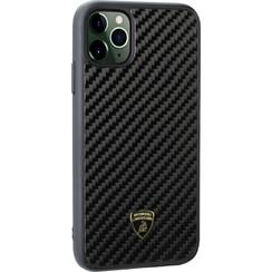 Lamborghini Apple iPhone 11 Pro Max Black Back Cover case - Lambo Sport
