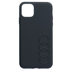 Audi Apple iPhone 11 Back-Cover hul Schwarz TT Serie - Kunstleer