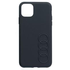 Audi Apple iPhone 11 Black Back Cover case - TT Serie