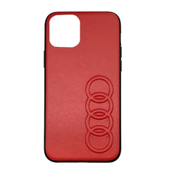 Audi Apple iPhone 11 Pro Rood Backcover hoesje TT Serie - Kunstleer