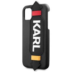 Karl Lagerfeld Apple iPhone 11 Pro  Zwart Backcover hoesje - KLHCN58HDAWBK