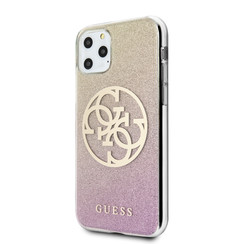 Guess Apple iPhone 11 Pro Max Goud Backcover hoesje - GUHCN65PCUGLPGG