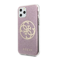 Guess Apple iPhone 11 pro Max Rose Back cover coque GUHCN65PCUGLPI