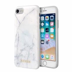Apple iPhone 7-8 Wit Guess Backcover hoesje GUHCI8PCUMAWH - TPU - GUHCI8PCUMAWH