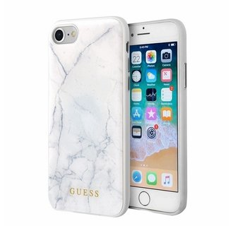 Apple iPhone 7-8 Wit Guess Backcover hoesje GUHCI8PCUMAWH - TPU - GUHCI8PCUMAWH