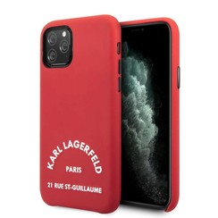 Apple iPhone 11 Pro Karl Lagerfeld Back cover coque KLHCN58NYRE Rouge