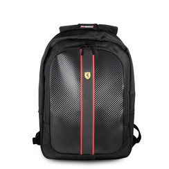 Ferrari Collectie -11-13.3-15 inch Laptoptas type Rugtas voor laptop en notebook (messenger tas),11-15 inch voor o.a. HP, Dell, Asus, Acer, Medion, Toshiba, Lenovo, Macbook, Microsoft, Peaq etc.,  Zwart Rugtas - Urban Collection - FESNMBP15BK