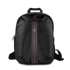 Ferrari 11-13-15  inch Laptoptas type Rucksack für laptop en notebook ,(messenger tasche), 11-13-15 inch für o.a. HP, Dell, Asus, Acer, Medion, Toshiba, Lenovo, Macbook, Microsoft, Peaq etc., Schwarz  - Urban Collection, FEURBPS15BK