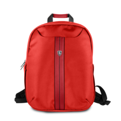 Ferrari Collectie -11-12-13.3-15 inch Laptoptas type Rugtas voor laptop en notebook (messenger tas), 11-14 inch voor o.a. HP, Dell, Asus, Acer, Medion, Toshiba, Lenovo, Macbook, Microsoft, Peaq etc.,  Rood Rugtas - Urban Collection -  FEURBPS15RE