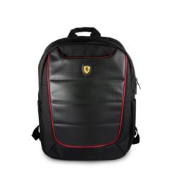 Ferrari 11-13-15  inch Laptoptas type Rucksack für laptop en notebook ,(messenger tasche), 11-13-15 inch für o.a. HP, Dell, Asus, Acer, Medion, Toshiba, Lenovo, Macbook, Microsoft, Peaq etc., Schwarz  - Urban Collection - FEBP15BK