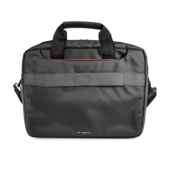 Ferrari 11-12-13  inch Laptoptas type schoudertas voor laptop en notebook (messenger tas), 11-12 -13 inch voor o.a. HP, Dell, Asus, Acer, Medion, Toshiba, Lenovo, Macbook, Microsoft, Peaq etc., Zwart, - Urban Collection, FECB13BK