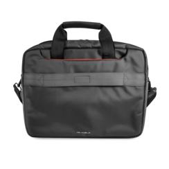 Ferrari 11-12-13  inch Laptoptas type Umhängetasche für laptop en notebook ,(messenger tasche), 11-12- 13 inch für o.a. HP, Dell, Asus, Acer, Medion, Toshiba, Lenovo, Macbook, Microsoft, Peaq etc., Schwarz  FECB13BK