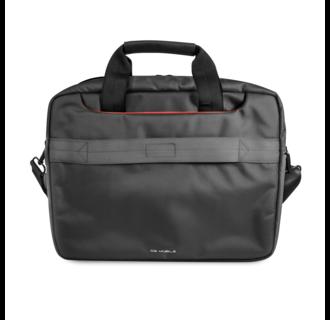 Ferrari 11-12-13  inch Laptoptas type schoudertas voor laptop en notebook (messenger tas), 11-12 -13 inch voor o.a. HP, Dell, Asus, Acer, Medion, Toshiba, Lenovo, Macbook, Microsoft, Peaq etc., Zwart, - Urban Collection, FECB13BK