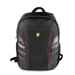 Ferrari 11-13.-15 inch Laptoptas type Rucksack für laptop en notebook (messenger tasche), 11-15 inch für o.a. HP, Dell, Asus, Acer, Medion, Toshiba, Lenovo, Macbook, Microsoft, Peaq etc., Schwarz Off Track -Scuderia, FESRBBPCO15BK
