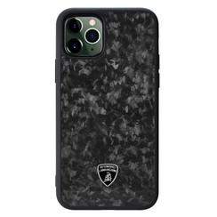 Lamborghini Apple iPhone 11 Pro Max Zwart Backcover hoesje Lambo Sport