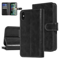 UNIQ Accessory Apple iPhone Xs Max Black Soft Touch Book type case