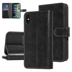 UNIQ Accessory iPhone Xs Max Noir Doux au toucher Book type housse