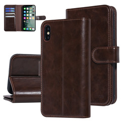 UNIQ Accessory Apple iPhone Xs Max Brown Soft Touch Book type case