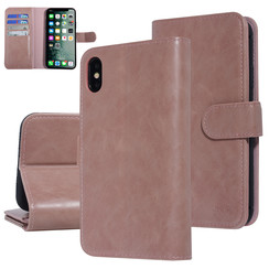 UNIQ Accessory Apple iPhone Xs Max Pink Soft Touch Book type case
