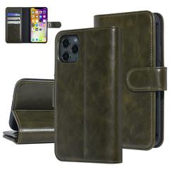 UNIQ Accessory iPhone 11 Pro Vert Foncé Doux au toucher Book type housse