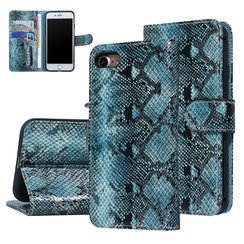 UNIQ Accessory Apple iPhone 7-8 Black and Green Snakeskin Book type case
