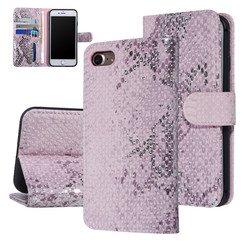 UNIQ Accessory Apple iPhone 7-8 Pink Snakeskin Book type case