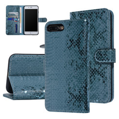 UNIQ Accessory Apple iPhone 7-8 Plus Green Snakeskin Book type case