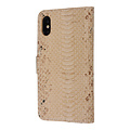 UNIQ Accessory UNIQ Accessory Apple iPhone X-Xs Gold Snakeskin Book type case