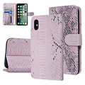 UNIQ Accessory UNIQ Accessory Apple iPhone X-Xs Pink Snakeskin Book type case