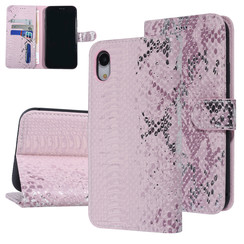 UNIQ Accessory Apple iPhone XR Pink Snakeskin Book type case