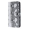 UNIQ Accessory UNIQ Accessory iPhone Xs Max Noir et Blanc Peau de serpent Book type housse