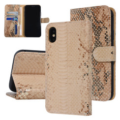 UNIQ Accessory Apple iPhone Xs Max Gold Snakeskin Book type case