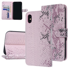 UNIQ Accessory Apple iPhone Xs Max Pink Snakeskin Book type case